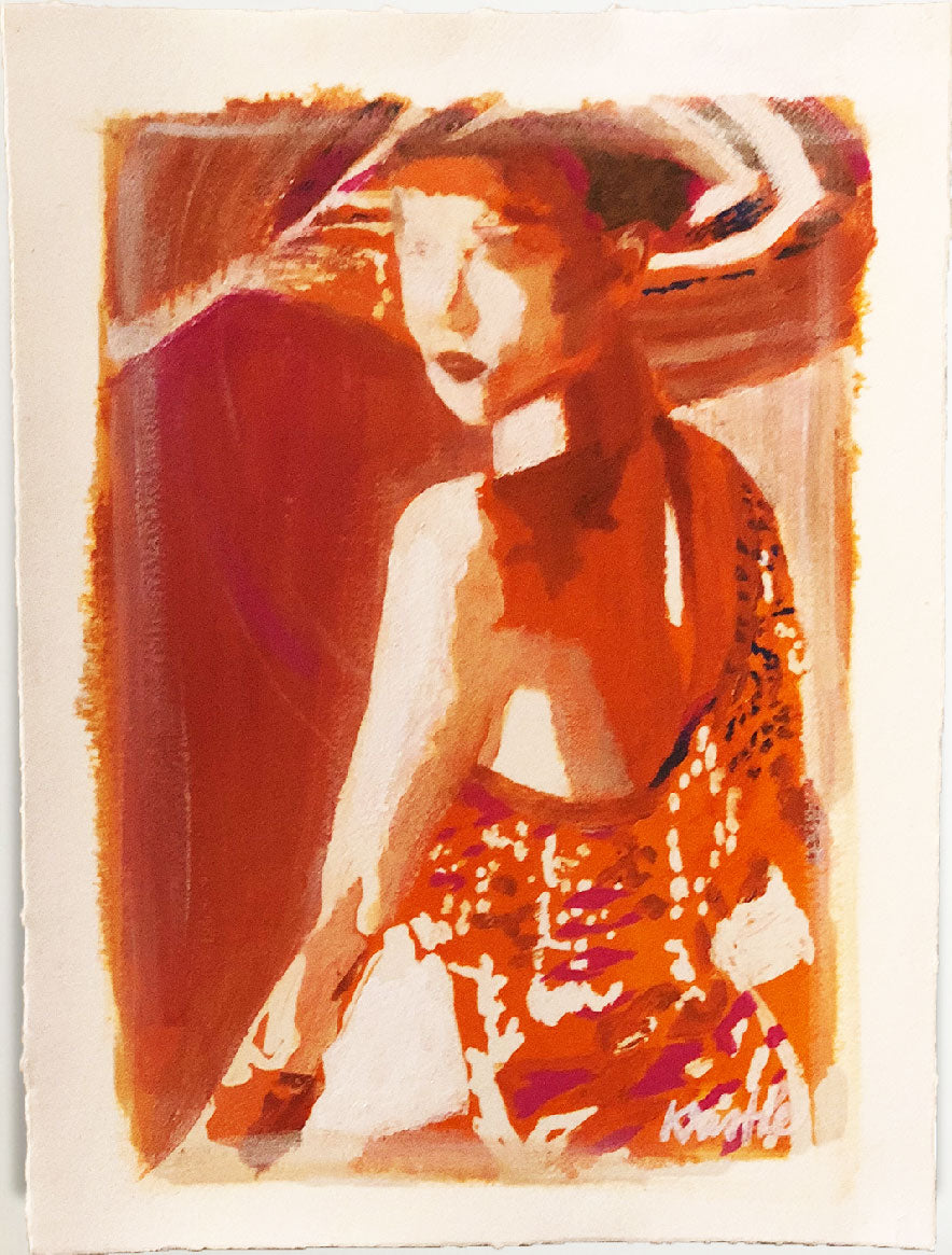 Holiday Everyday Figure - Sunset Orange