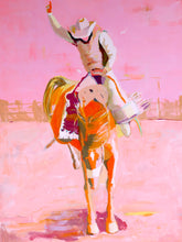Load image into Gallery viewer, Longest Ride in Light Pink Print -  18 x 24""