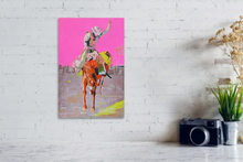 Load image into Gallery viewer, Longest Ride in Magenta Print -  20 x 30""