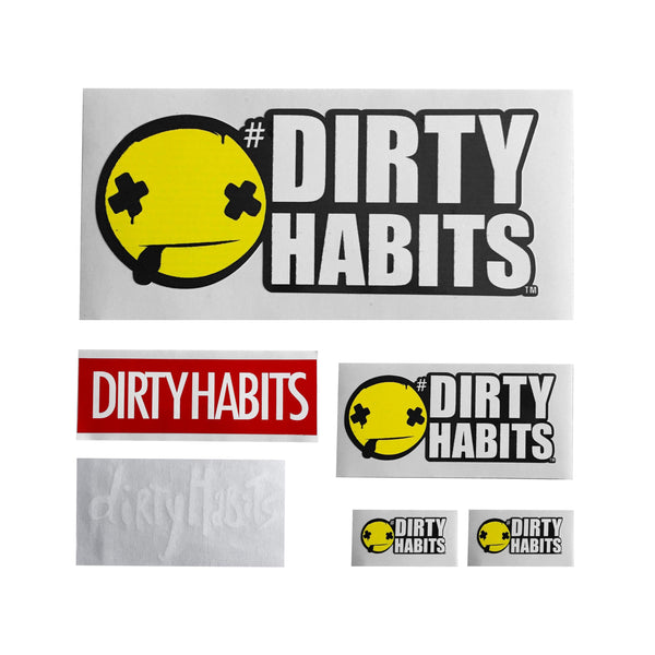 Dirty Habits Sticker Pack