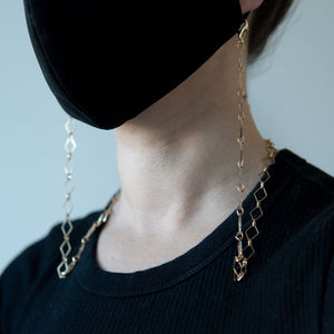 Paperclip Style Mask Chain - LINKETS
