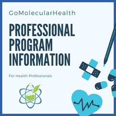 GoMolecularHealth Professional Program for Health Professionals