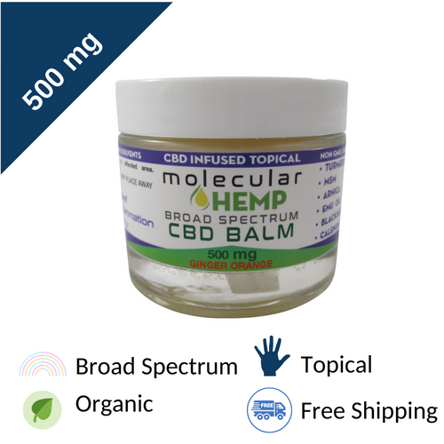 500mg CBD Topical Balm with Arnica