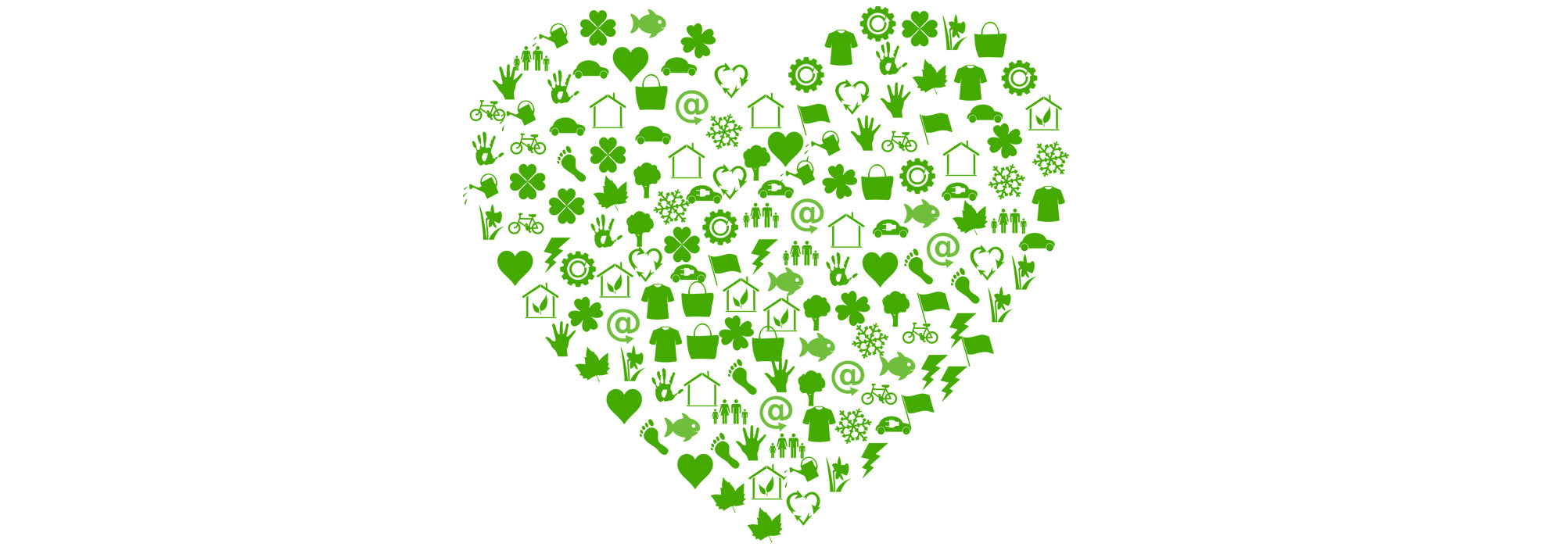 A green Valentine's Day