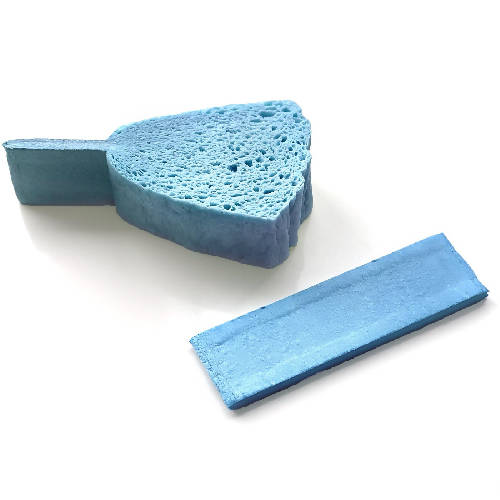 Biodegradable compressed sponges