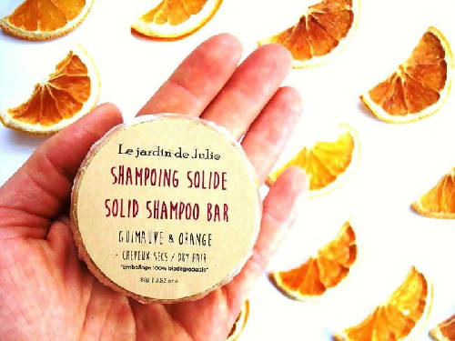 Shampoing solide Guimauve & Orange