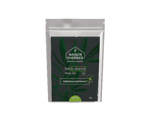 5117 – Green Hemp Tea – Formosa Gunpowder
