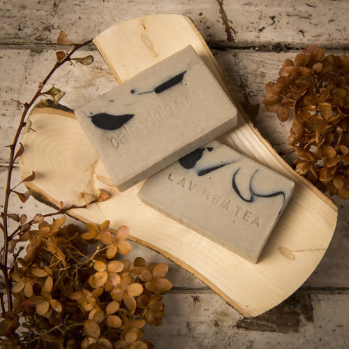 Lavender/rosemary/tea tree soap, normal to oily skin prone to acne