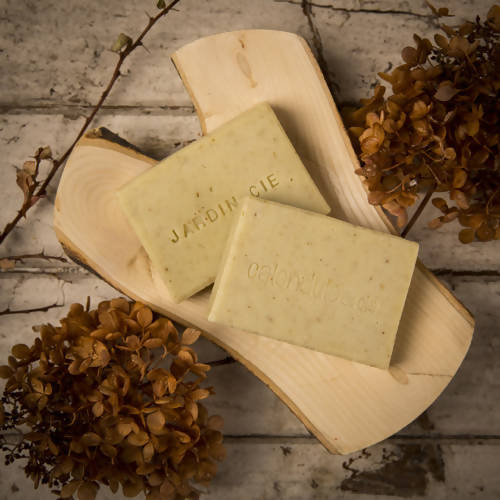 Jardin & cie hand & feet exfoliant soap
