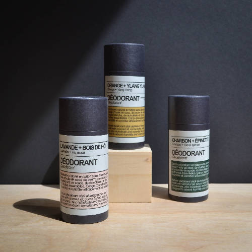 NATURAL DEODORANT without aluminium