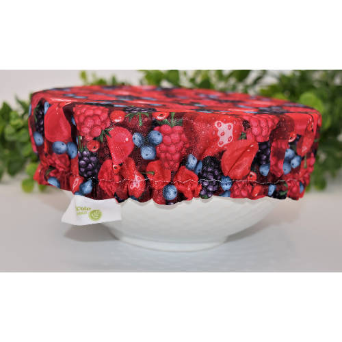 Large reusable bowl cover