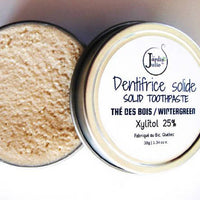 Solid Toothpaste, Forest Tea - Vegan + Eco-responsible + Zero Waste