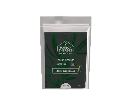 5013 – White Hemp Tea – Monk's Blend
