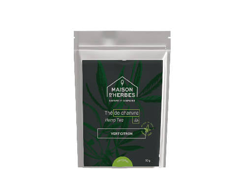 5140 – Green Hemp Tea – Lemony Green