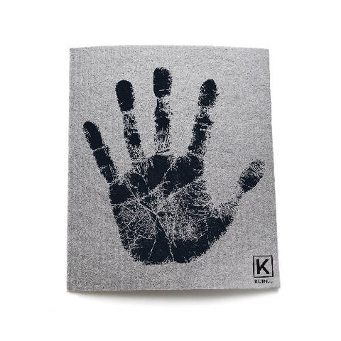 Small reusable and compostable towel - Hand