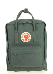 Sac à dos FJALLRAVEN Kanken Forest Green Face