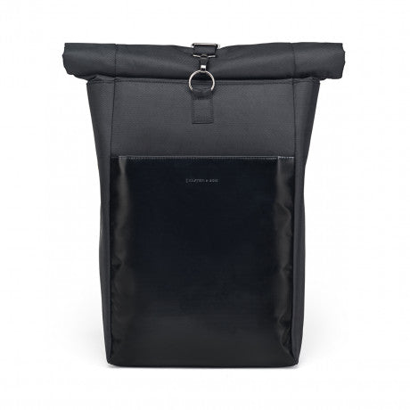 "Sac a dos Lund ""All Black"" KAPTEN AND SON face"