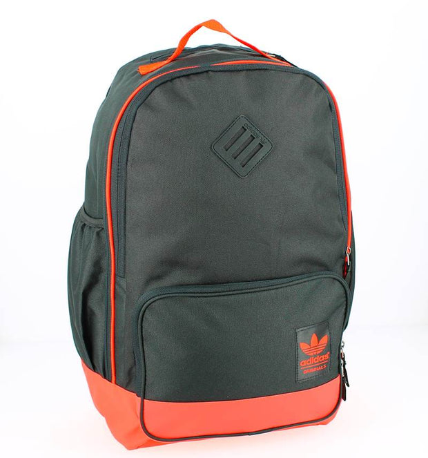 Sac à dos ADIDAS BPACK CAMPUS noir et orange FACE