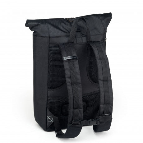 "Sac a dos Lund ""All Black"" KAPTEN AND SON dos"
