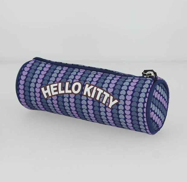 trousse hello kitty HPC20009 Bleu DOS