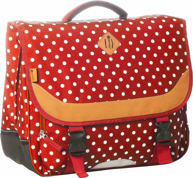 Cartable 41 cm Snowball 65141 Rouge