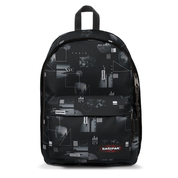SAC A DOS EASTPAK OUT OF OFFICE SHAPES BLACK