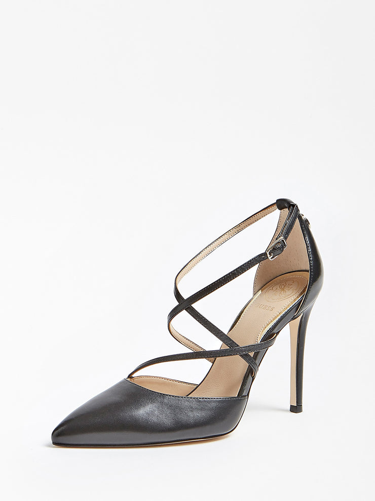 ESCARPINS GUESS CLAUDIE CUIR VERITABLE