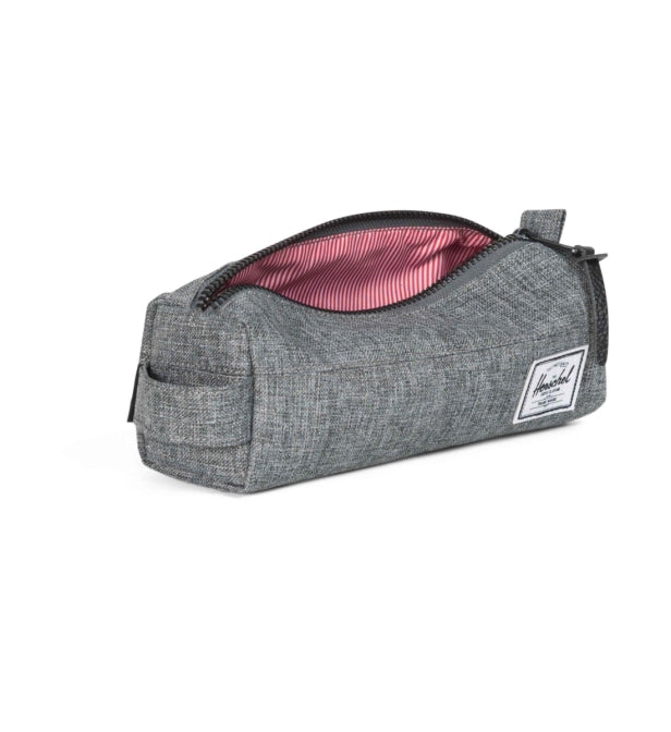 HERSCHEL trousse light gris crosshatch