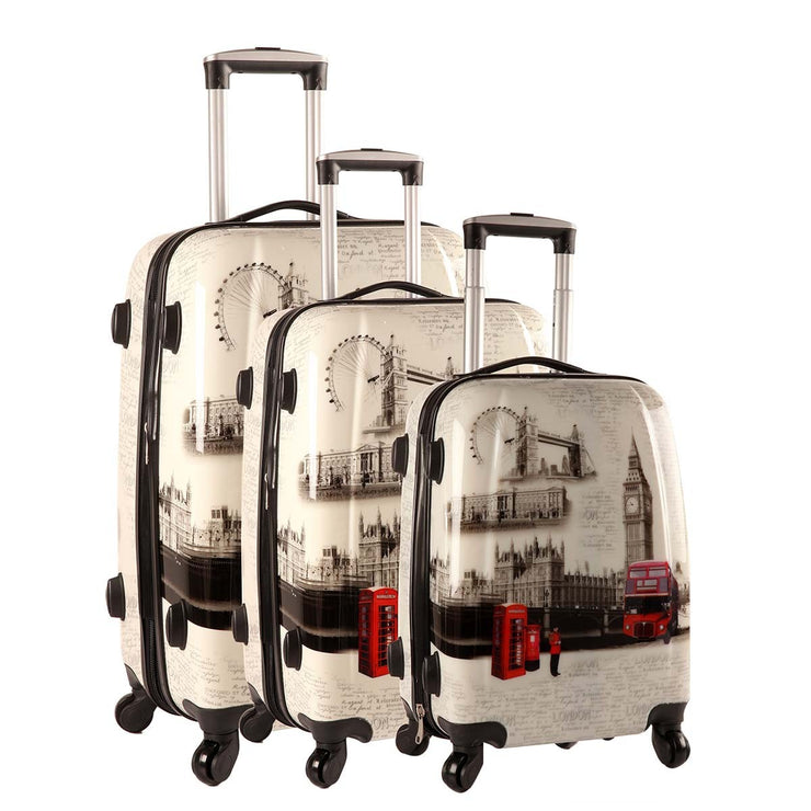 Lot de 3 valises MADISSON London Bridge