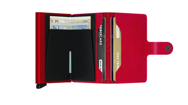 Miniwallet Original Secrid Red