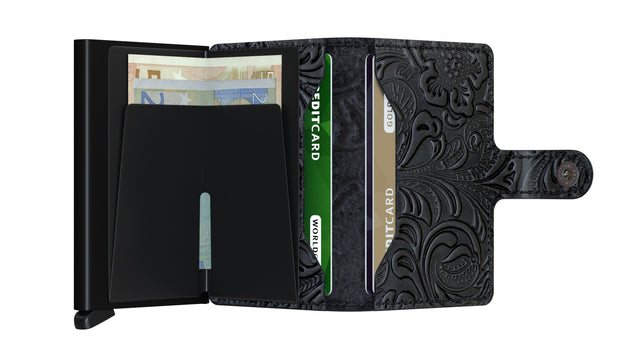 Miniwallet Secrid Ornament Black