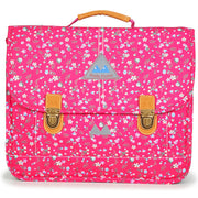 Cartable Poids Plume 38 cm Liberty Framboise