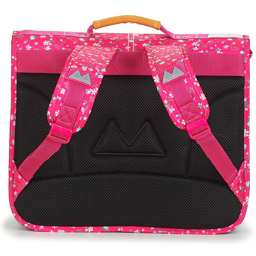 Cartable Poids Plume 38 cm Liberty Framboise dos
