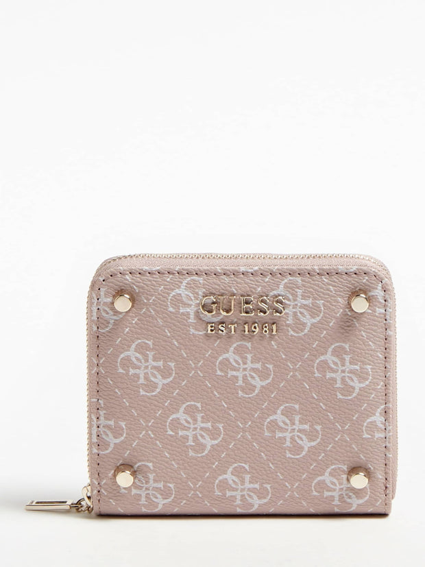 Porte Monnaie GUESS Aline-Rosewood