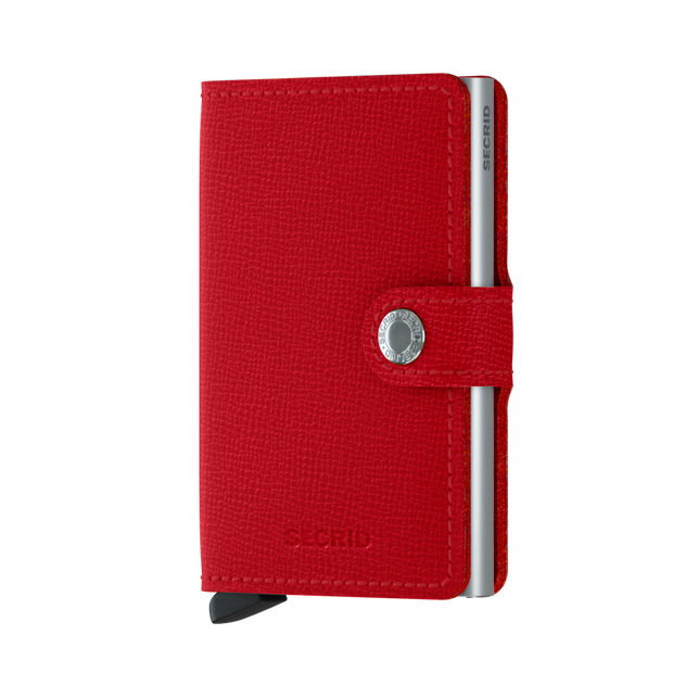 Miniwallet Secrid Crisple Red