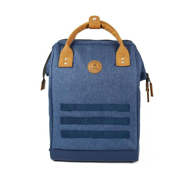 Sac à dos Cabaia PARIS Bleu Chiné Medium
