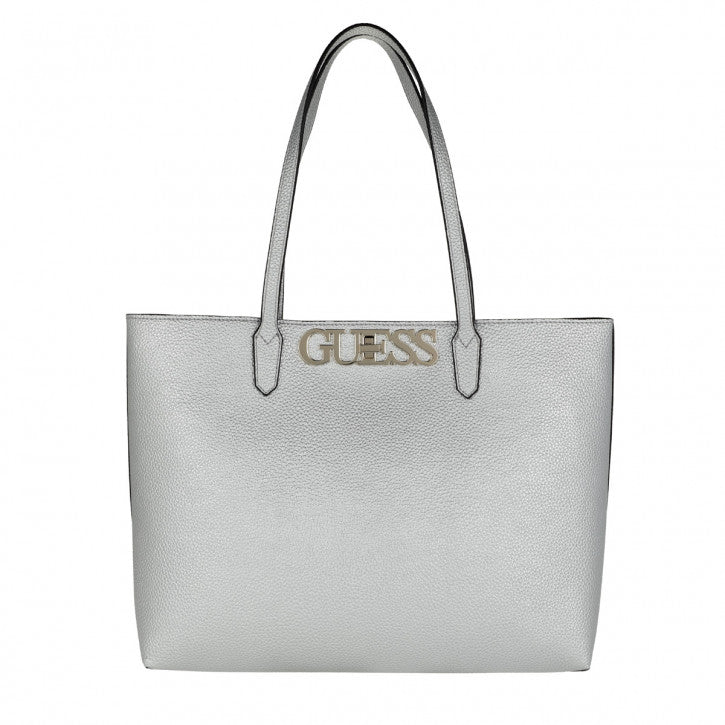 Sac cabas GUESS Uptown Chic Argent
