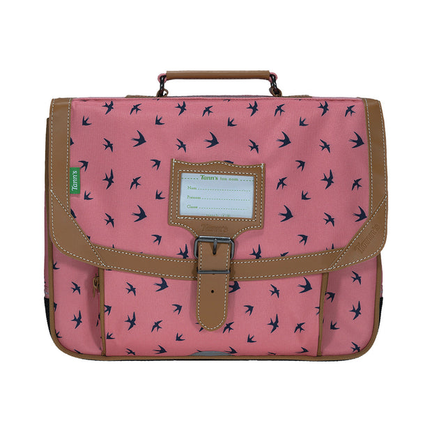 Cartable Tann's 35 cm Les Fantaisies Swann Rose