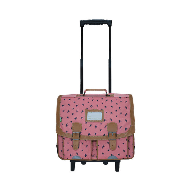 Tann's Cartable trolley 41 cm Swann rose