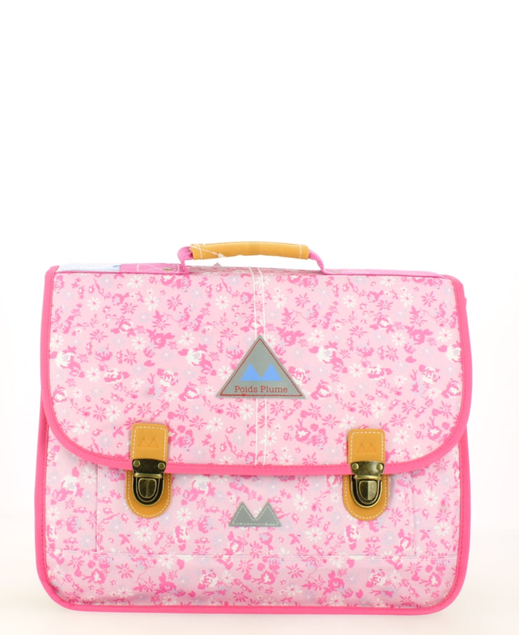 Cartable Poids Plume 38 cm Liberty Rose face