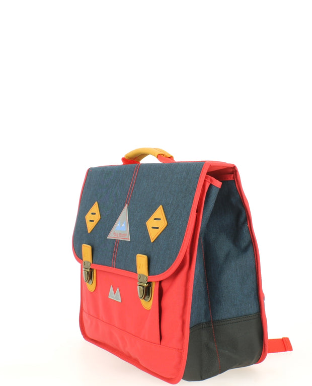 Cartable Poids Plume 38 cm PLI173844-RED/DARK-JEANS profil