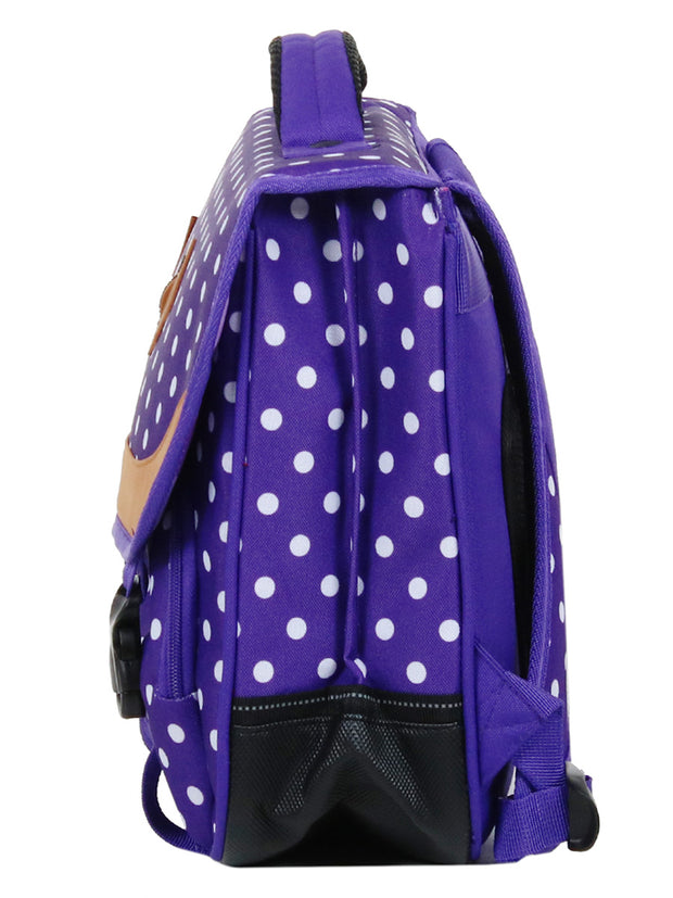 Cartable 38 cm Snowball 65138 Violet profil