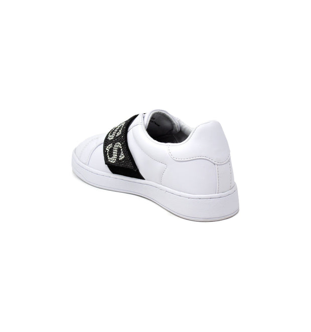 BASKET SLIPPER CONNUR GUESS BANDE STRASS LOGO
