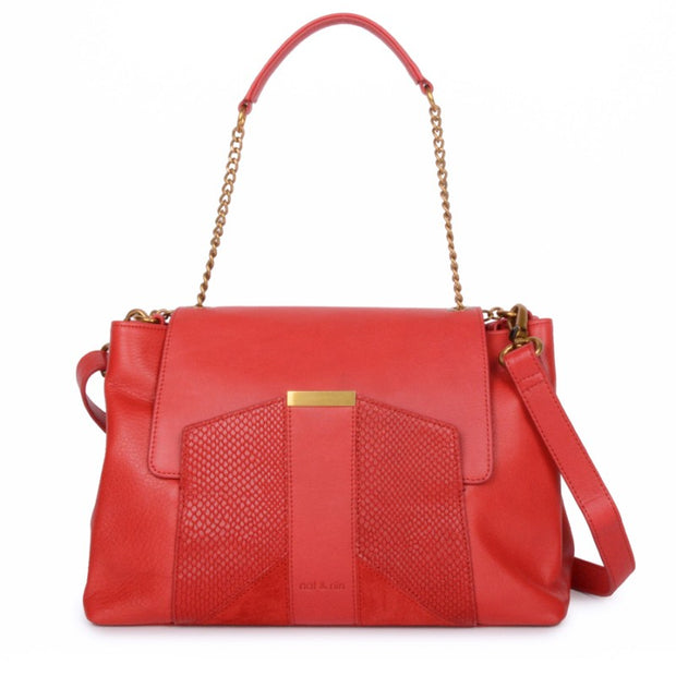 sac Nat Nin Chiara rouge face