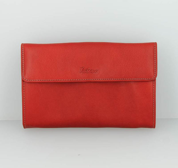 Compagnon Katana Pop cuir-Rouge face