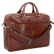 Picard Porte document Buddy cuir 42 cm COGNAC