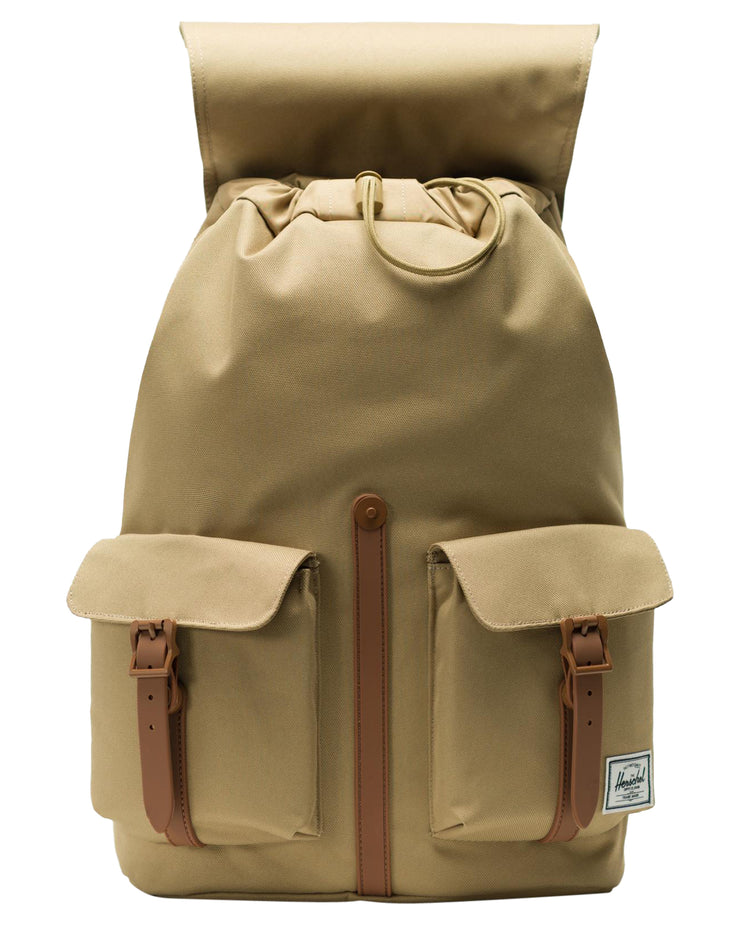 sac a dos HERSCHEL Dawson X Kelp Saddle Brown ouvert