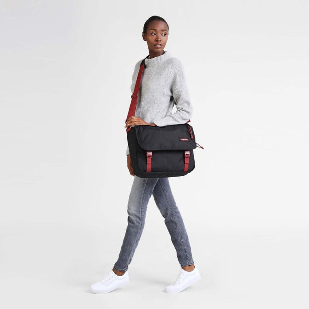 Sac Eastpak Delegate Black Red PORTE