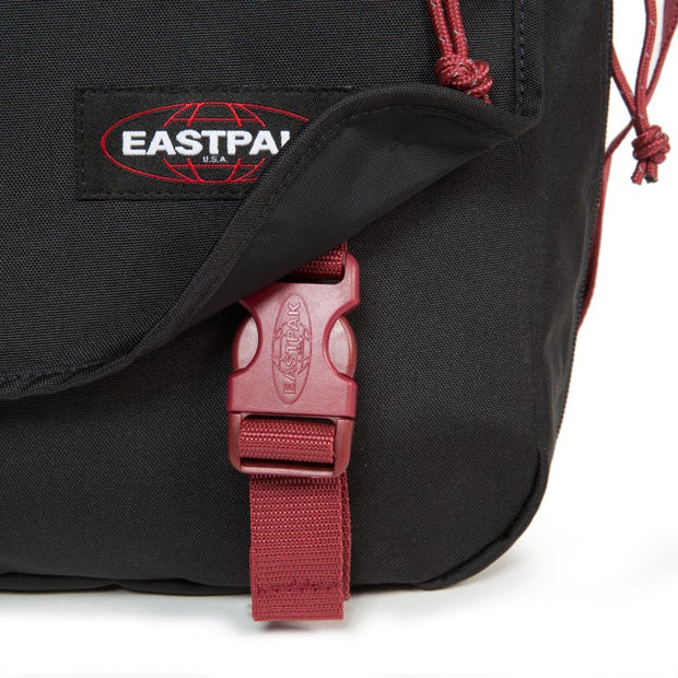 Sac Eastpak Delegate Black Red DESSOUS