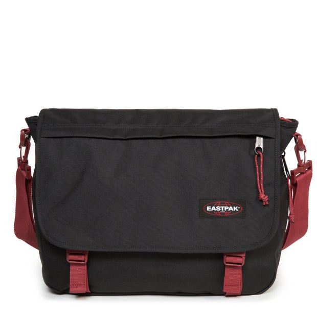 Sac Eastpak Delegate Black Red face